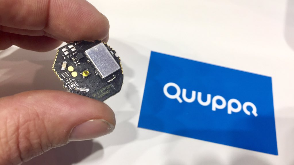Quuppa Launches Powerful Tag Module for Precision Location : Quuppa